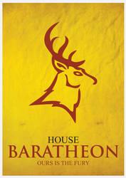 House Baratheon Minimalism by cstm