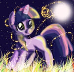 Curious as a filly