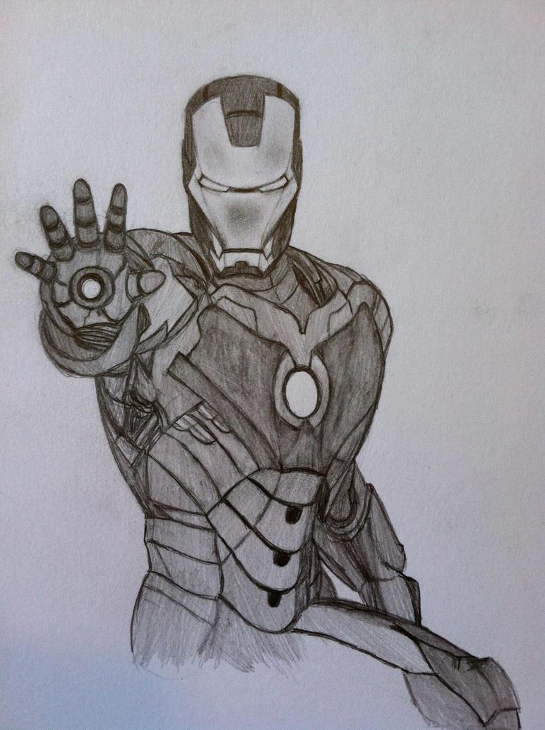 Iron Man by Enseethis