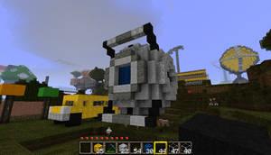 Wheatley in Minecraft