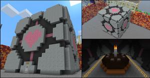 Companion Cube in Minecraft