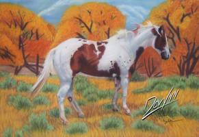 When Time Stood Still-Pastels by Devynn