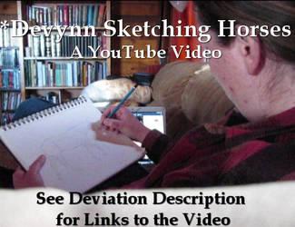 Video: Me Sketching by Devynn