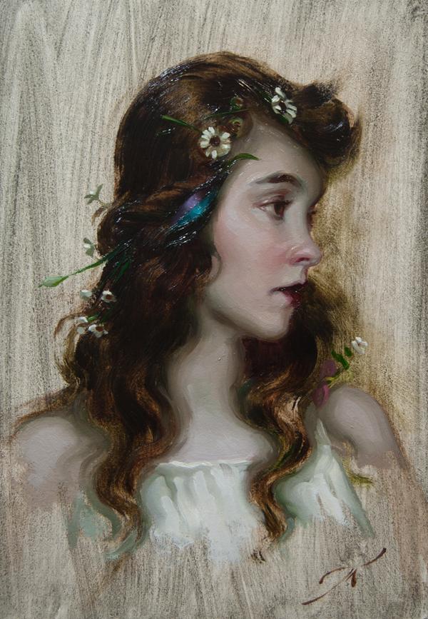 Lillian Gish by AthanArt