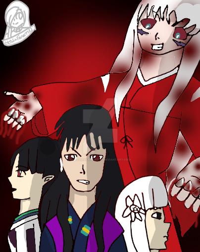 What If Inuyasha Was The Bad Guy And Naraku Good By HetaliaFanart132
