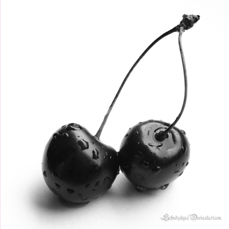 Black Cherries by Schnitzelyne