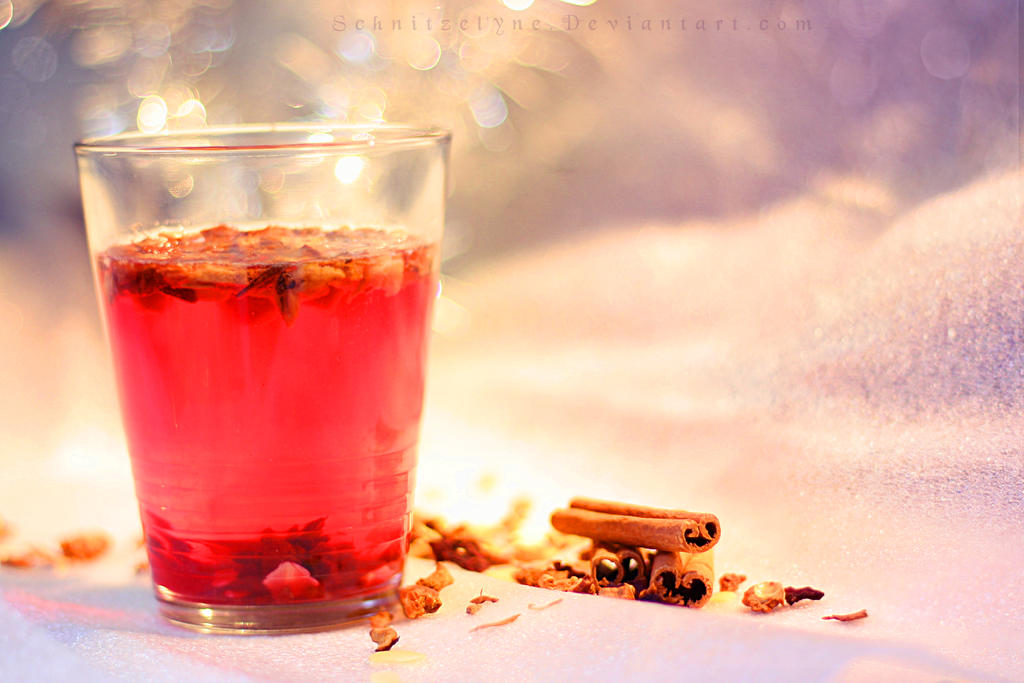 Winter Tea by Schnitzelyne