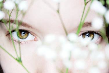 A Veil of Flowers II by ElyneNoir