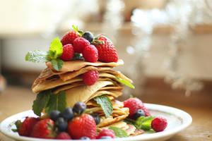 Pancakes by ElyneNoir