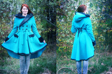 Selfmade Coat by ElyneNoir