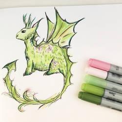 Botanical Dragon