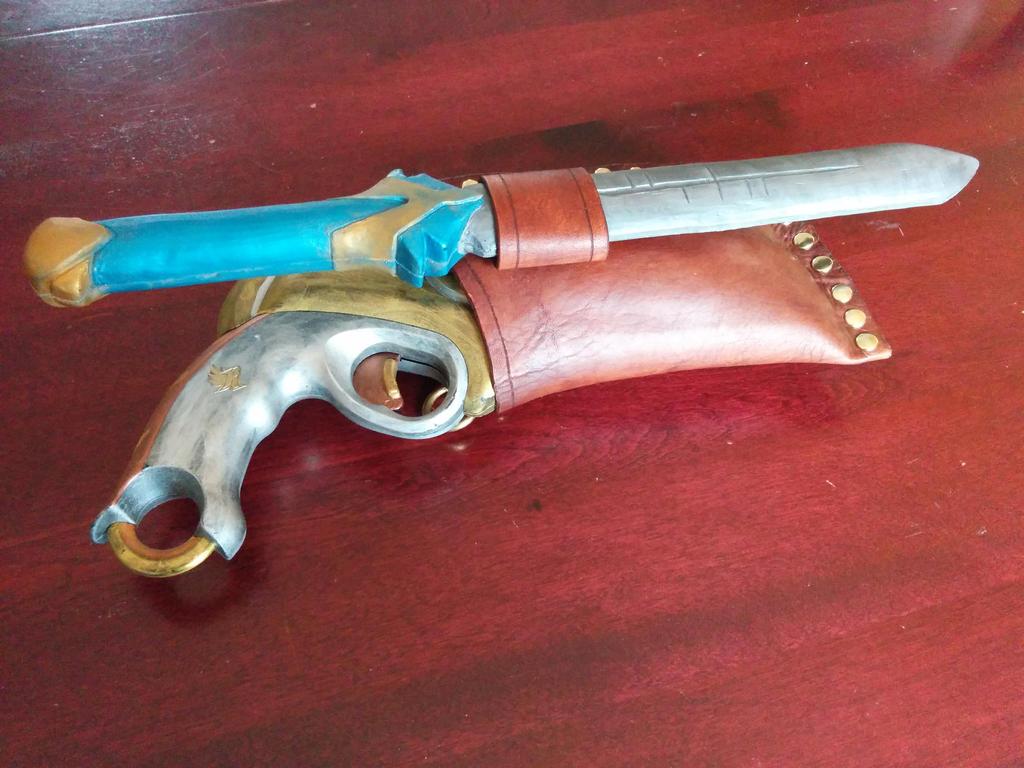 Steampunk Alchemist - Nerf Gun Holster - Side by Poupidou-K ...