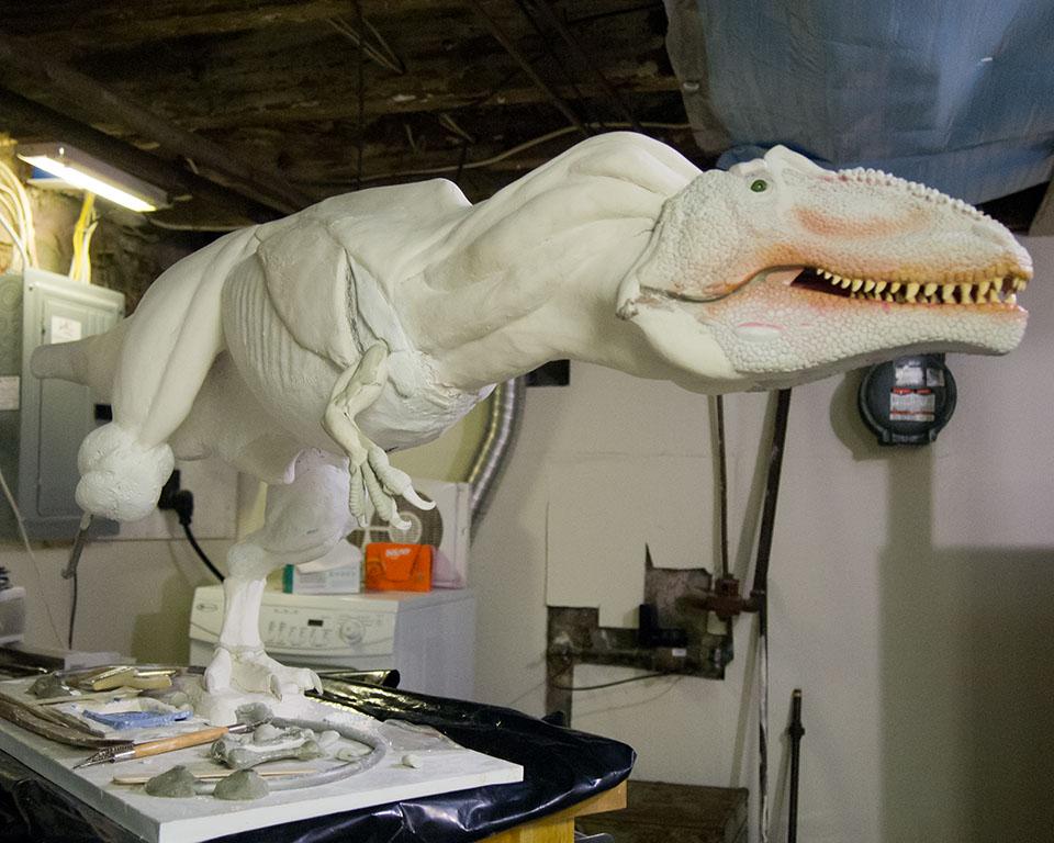 Giganotosaurus WIP by nwfonseca