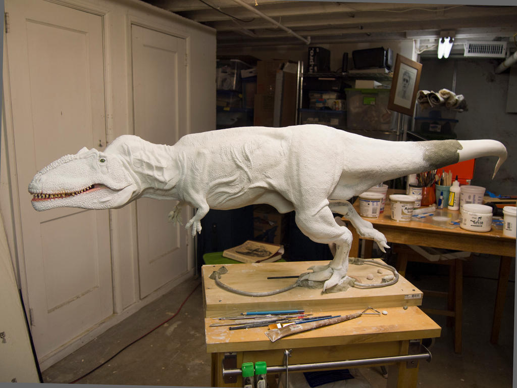 Giganotosaurus WIP Update by nwfonseca on DeviantArt