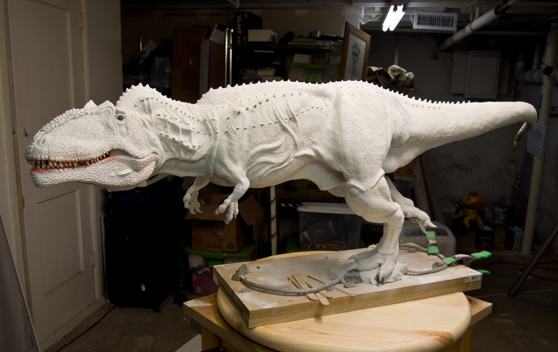 Another Giganotosaurus WIP Update by nwfonseca