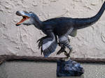 Blue Deinonychus 05
