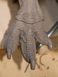 T Rex Sculpture by nwfonseca
