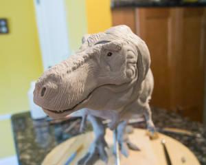 Tyrannosaurus Sculpture 7-21-17 11