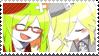 Yosafire x Froze Stamp by PoromPikachu