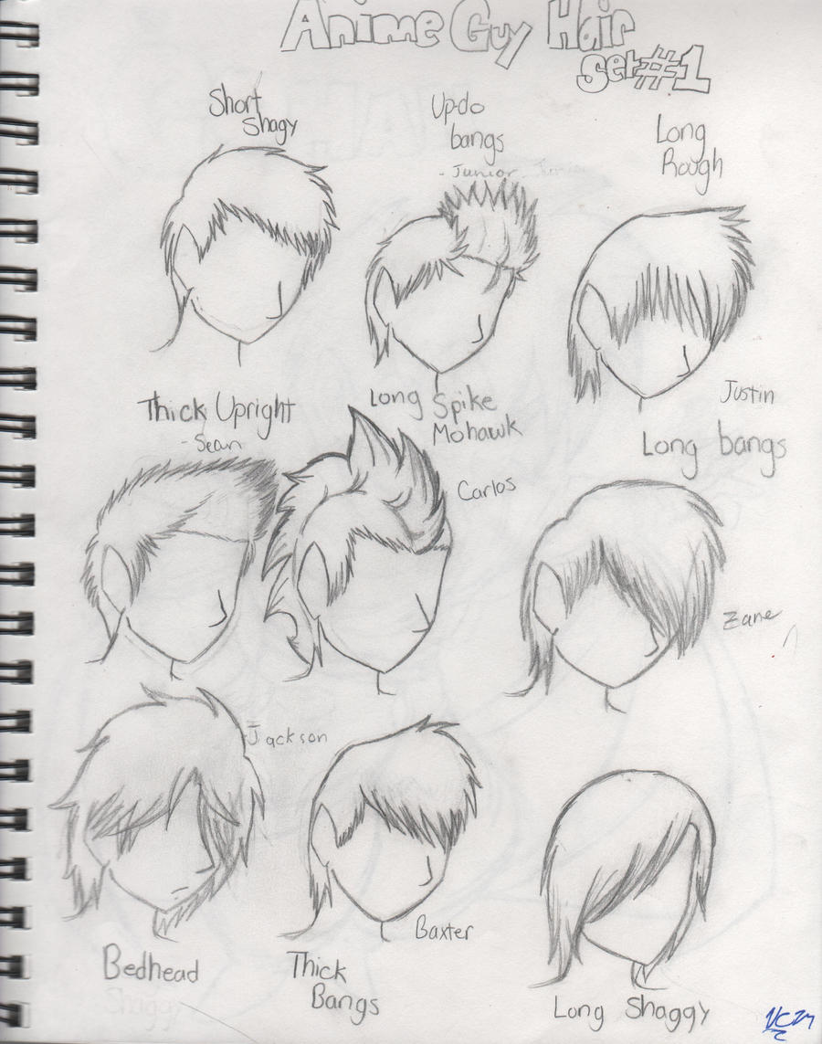 Best 25 Anime Hairstyles Male Ideas On Hair