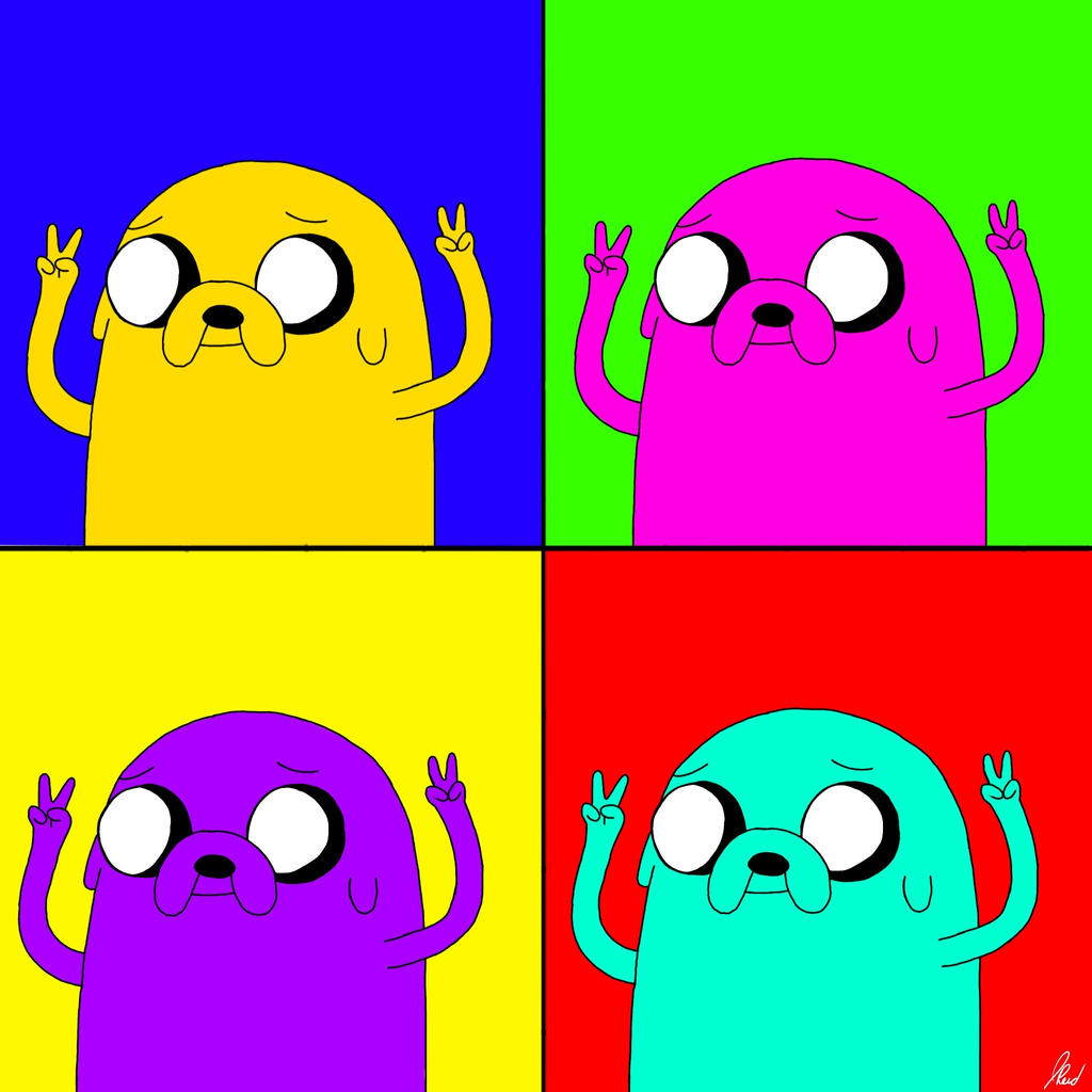 jake peace pop art by linkratchetjak on deviantart