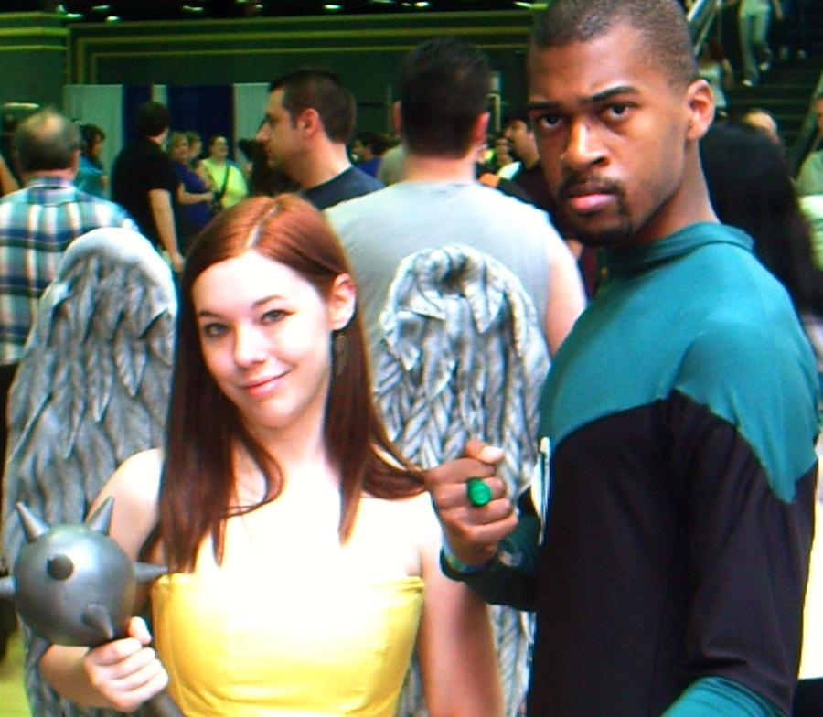 Hawkgirl and GL by MonkeySquadOne