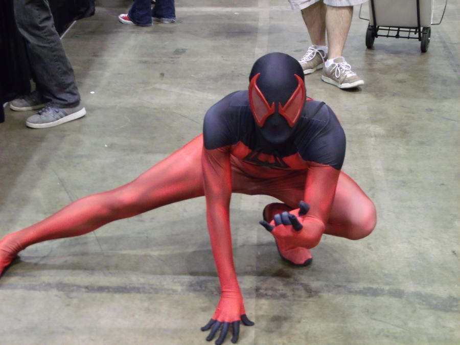 Scarlet Spider @ C2E2 2012 by MonkeySquadOne