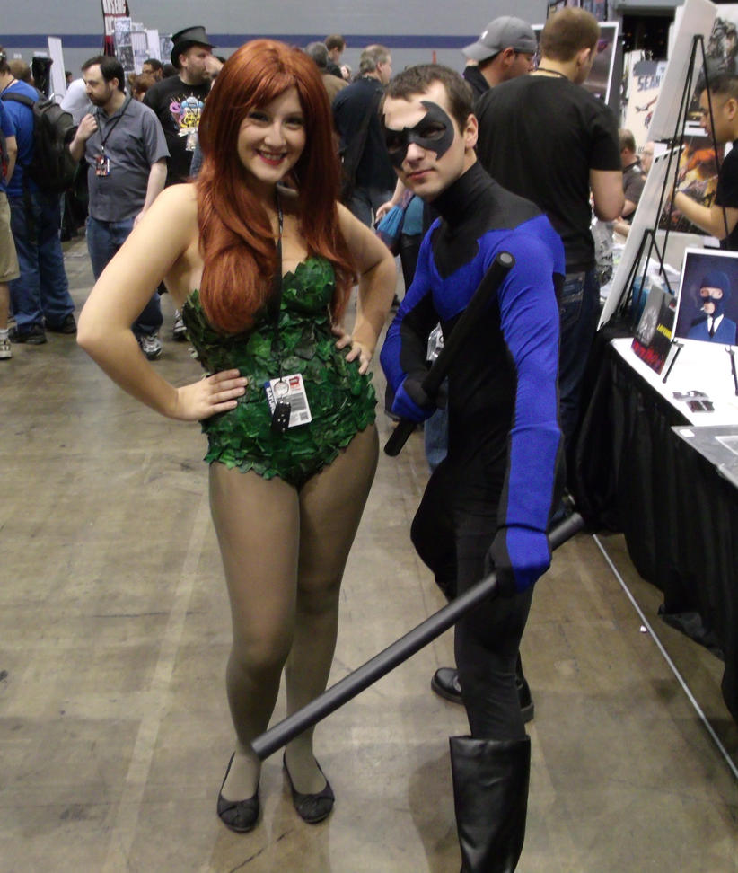 Ivy and Nightwing @ C2E2 2012 by MonkeySquadOne