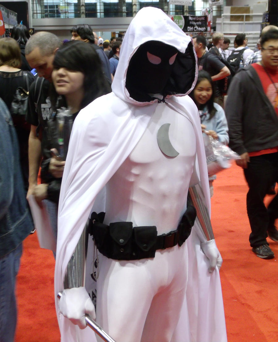 Moon Knight @ C2E2 2012 by MonkeySquadOne