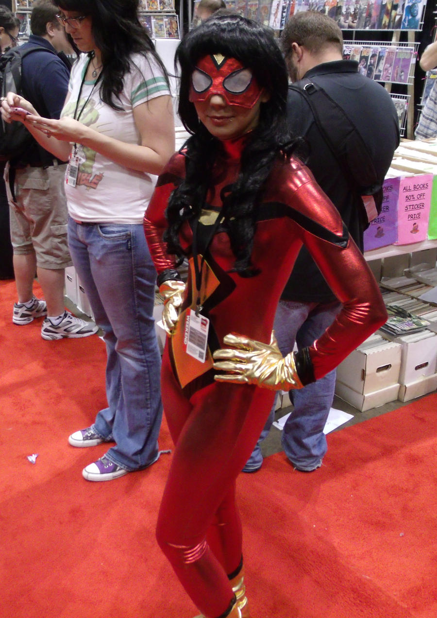 Spider Woman @ C2E2 2012 by MonkeySquadOne