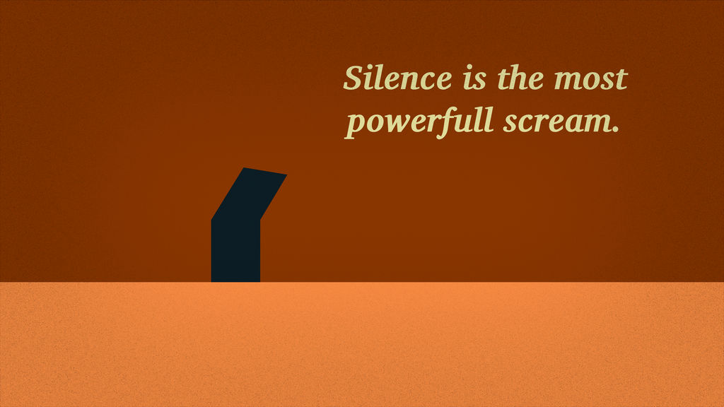 Silence - Wallpaper by weker01