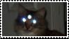 creepy cat stamp