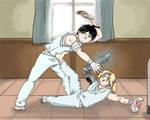 Hospital fight