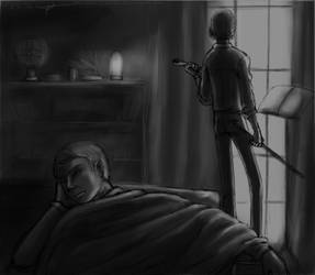Sleep well, my friend by Tenshi-Inverse