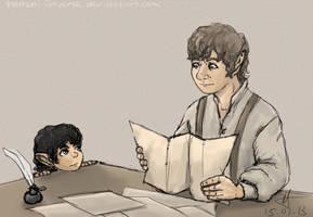 Uncle Bilbo by Tenshi-Inverse