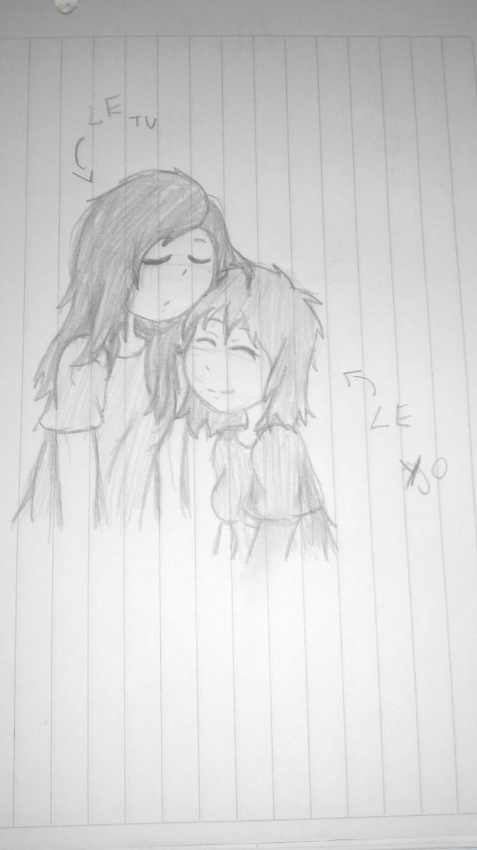 Dibujo a mi Crush by karla96