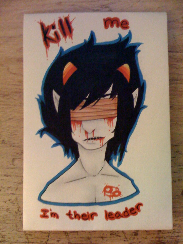 Karkat Copic Doodle. by Late-Night-Cannibals
