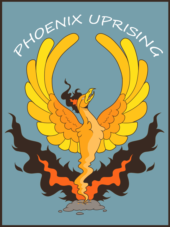 Phoenix Uprising Logo 2014 by Late-Night-Cannibals