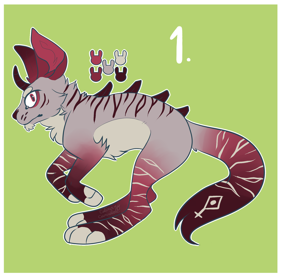 Catalope Adopt 1 (AUCTION OPEN) by Late-Night-Cannibals