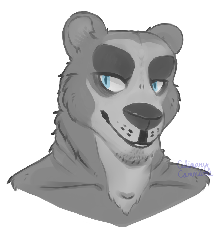 Specks Greyscale Doodle by Late-Night-Cannibals