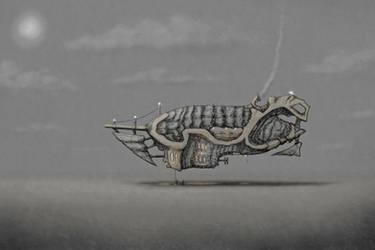Scoutship Piranha by 28crucis
