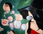 cubism bubbles