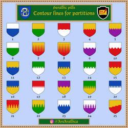 Contour lines (for partition)