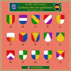 Heraldic pill #20 - Examples a2-o2