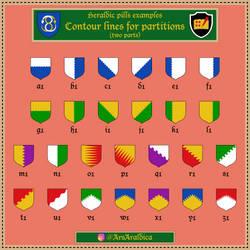 Heraldic pill #20 - Examples a1-z1
