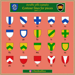 Heraldic pill #20 - Examples a1-t1