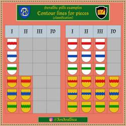 Heraldic pill #20 - Examples I-IV