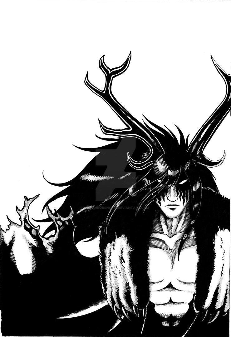 Dark Druid   Original Character by CherushiiBun