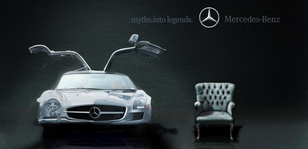 Mercedes benz ad by anoopanto on deviantart for Comercial mercedes benz