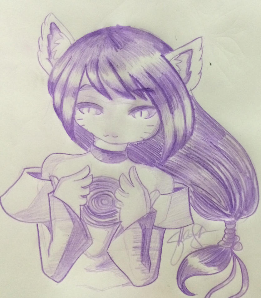 Ahri Trial by AyanoHoshi